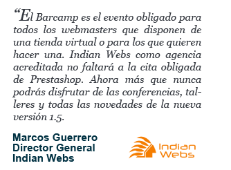 Marcos Guerrero - Director General - Indian Webs